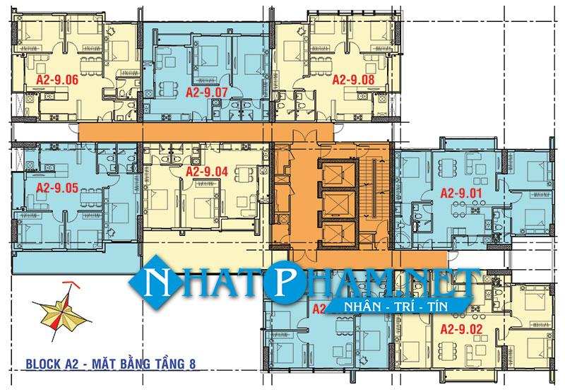 mat bang tang block A2