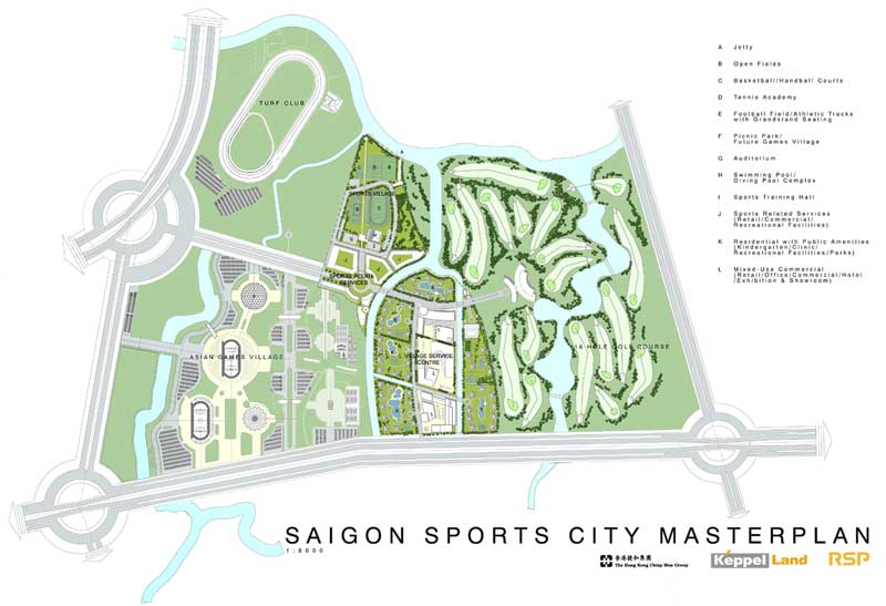 saigon sports city va xung quanh