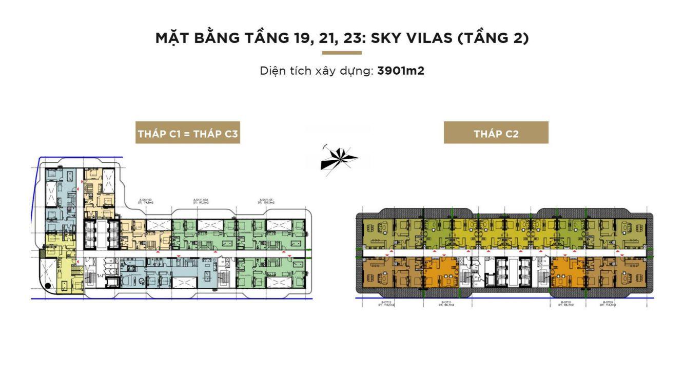 mat bang tang sky villa sunshine continental
